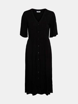 Čierne šaty Noisy May Fiona