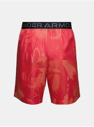 Kraťasy Under Armour Woven Adapt Shorts - červená