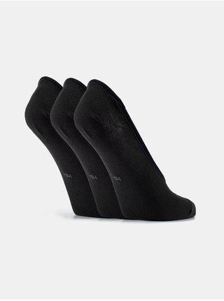 Ponožky Under Armour Essential LOLO Liner 3 Pk - černá