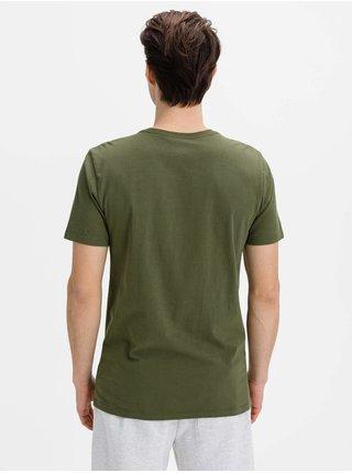 Tričko GAP Logo bas arch Zelená