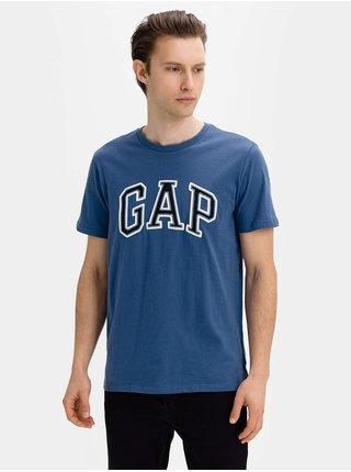 Tričko GAP Logo bas arch Modrá