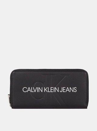 Calvin Klein čierne peňaženka Zip Around