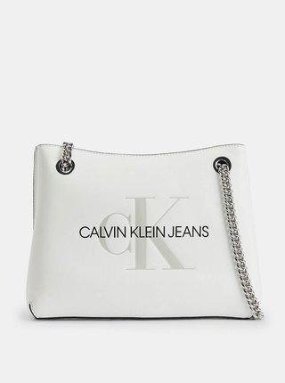 Calvin Klein bílá kabelka Shoulder Bag
