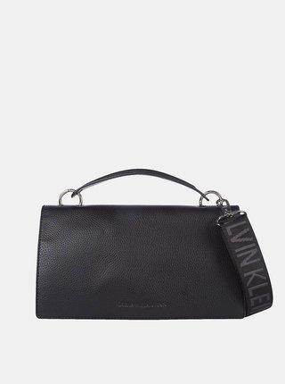 Calvin Klein čierne kabelka Flap Crossobody