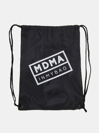 Černý batoh s potiskem In My Bag