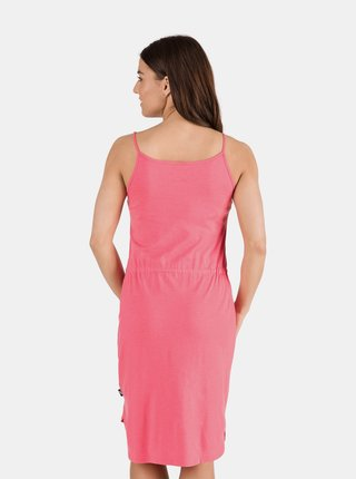Ružové dámske šaty so zaväzovaním SAM 73