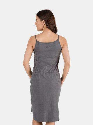 Šedé dámske šaty so zaväzovaním SAM 73