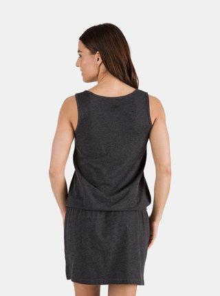 Černé dámské šaty se vzorem SAM 73