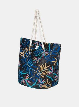 Roxy SUNSEEKER ANTHRACITE WILD LEAVES S dámská brašna - barevné