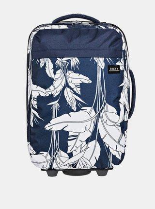 Roxy FEEL THE SKY MOOD INDIGO FLYING FLOWERS S kufr do letadla - modrá