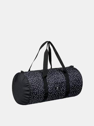 Roxy KIND OF WAY TRUE BLACK DOTS FOR DAYS cestovní taška - černá