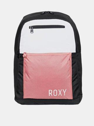 Roxy HERE YOU ARER COLORB Dusty Rose batoh do školy - černá