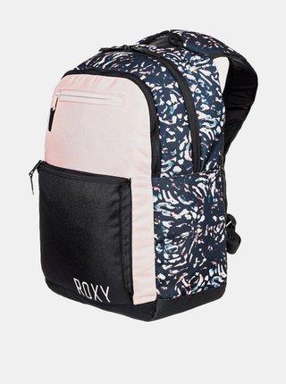 Roxy HERE YOU ARER COLORB TRUE BLACK IZI batoh do školy - černá