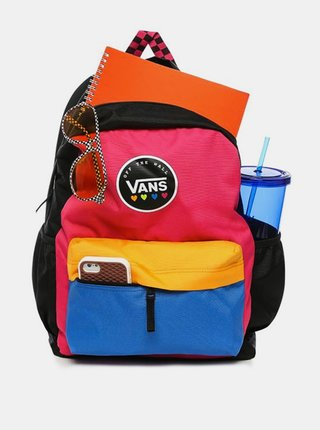 Vans SPORTY REALM PLUS CABARET batoh do školy - černá