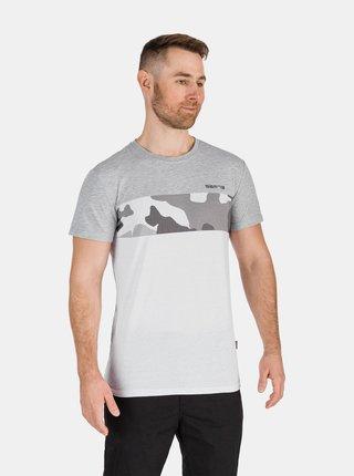 Bielo-šedé pánske tričko so vzorom SAM 73