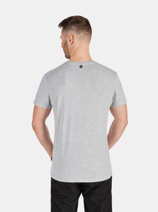 Bílo-šedé pánské tričko se vzorem SAM 73