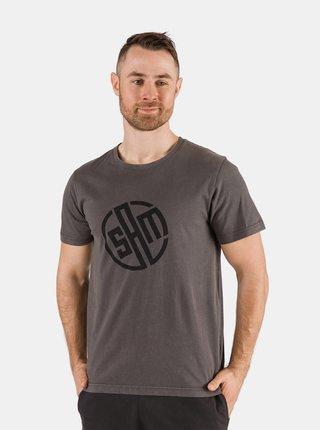 Šedé pánské tričko s potiskem SAM 73