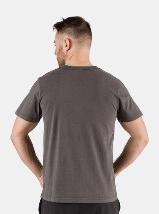 Šedé pánske tričko s potlačou SAM 73