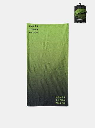 Zelená multifunkčná šatka SAM 73
