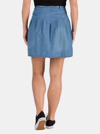 Modrá dámská džínová sukně SAM 73