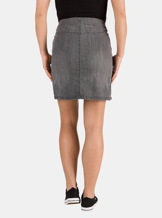 Šedá dámska rifľová púzdrová sukňa SAM 73