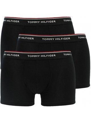 3PACK pánské boxerky Tommy Hilfiger černé nadrozměr