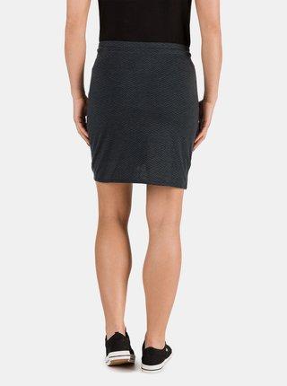 Černá dámská sukně se zavazováním SAM 73