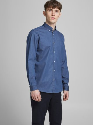 Modrá džínová košile Jack & Jones