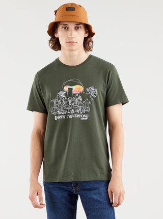 Khaki pánské tričko Levi's®