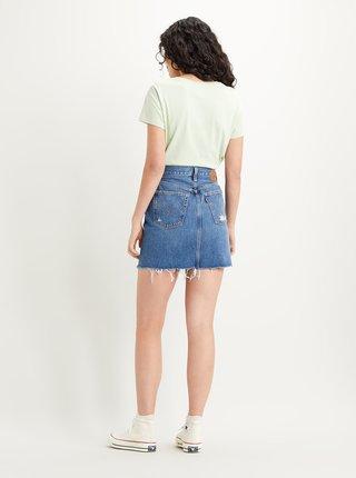 Modrá dámska rifľová sukňa Levi's®