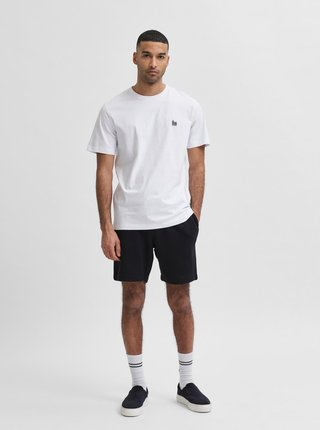 Biele tričko Selected Homme Jude