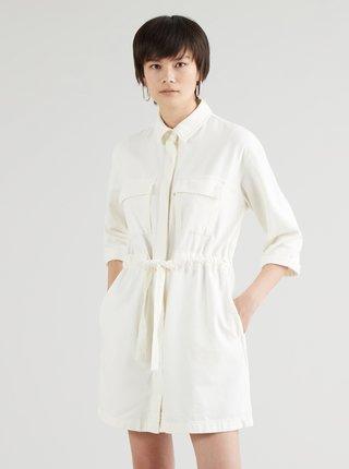 Krémové dámské džínové šaty Levi's®