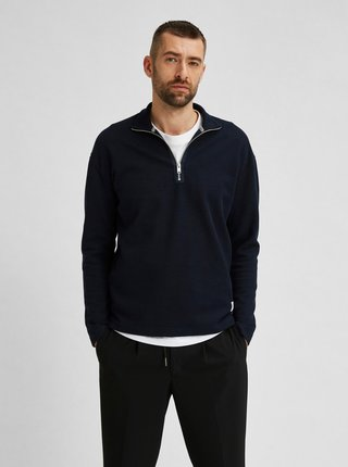 Tmavomodrý sveter Selected Homme Drew