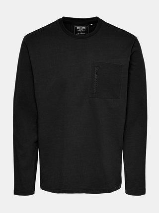 Černé tričko s kapsou ONLY & SONS Makhi