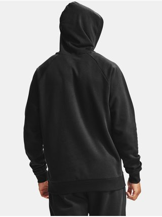Mikina Under Armour UA Rival Fleece Hoodie - černá