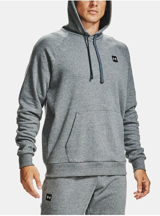 Mikina Under Armour UA Rival Fleece Hoodie - šedá