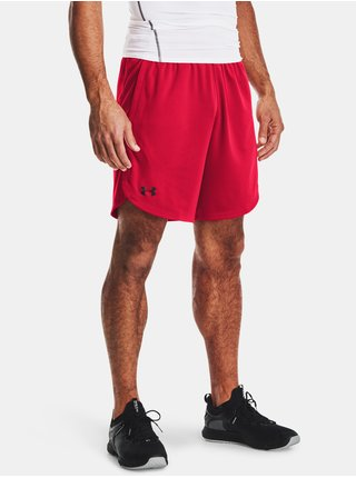 Kraťasy Under Armour Knit Training Shorts - červená