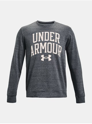 Mikina Under Armour UA RIVAL TERRY CREW - šedá