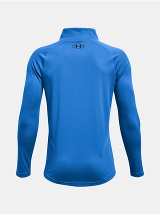 Tričko Under Armour UA Tech 2.0 1/2 Zip - modrá