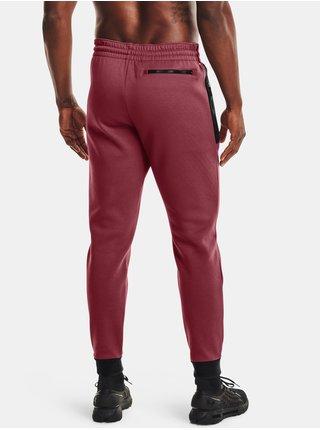 Kalhoty Under Armour UA Recover Fleece Pant - červená