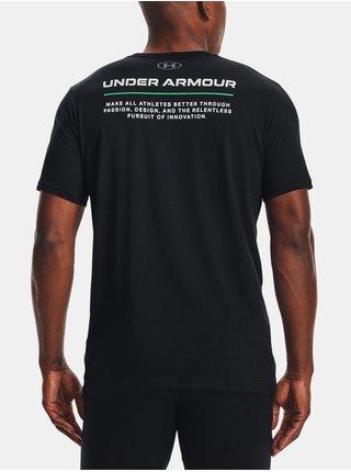 Tričko Under Armour UA BOXED ALL ATHLETES SS - černá