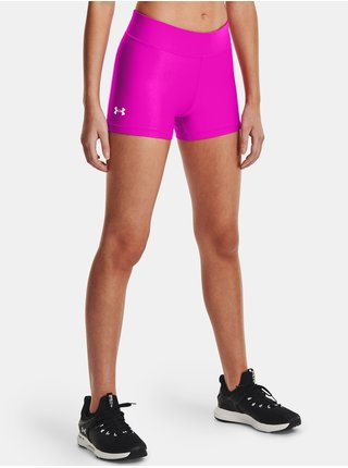 Kraťasy Under Armour HG Armour Mid Rise Shorty - růžová