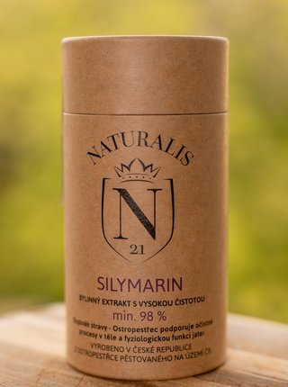 Doplněk stravy Silymarin Naturalis 60 kapslí