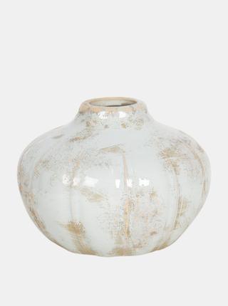 Bílá váza Clayre & Eef