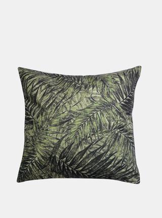 Zelený vzorovaný vankúš Clayre & Eef 43 x 43 cm