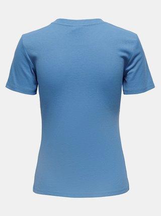 Modré tričko Jacqueline de Yong Kissa