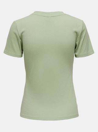Světle zelené tričko Jacqueline de Yong Kissa