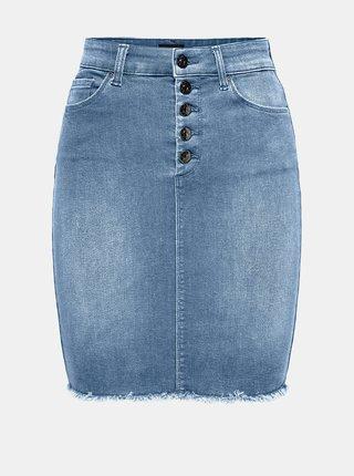 Svetlomodrá rifľová púzdrová sukňa ONLY Blush