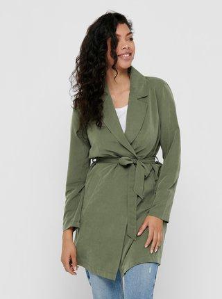 Zelený trenčkot Jacqueline de Yong Paschal