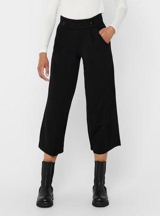 Čierne culottes s gombíkmi Jacqueline de Yong Geggo